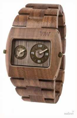 WeWood Mens jupiter rs écrou bracelet brun en bois 70331700