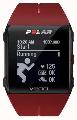 Polar V800 gps multisportives rouge (avec h) surveiller 90060774