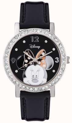 Disney Adult Minnie souris en acier inoxydable boîtier en argent MN1149