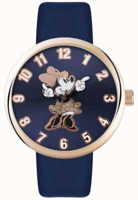 Disney Adult Minnie mouse rose étui en or bleu MN1471