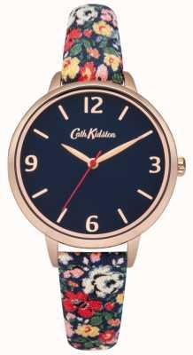 Cath Kidston Cath kidston mews ditsy navy montre bracelet en tissu CKL002URG