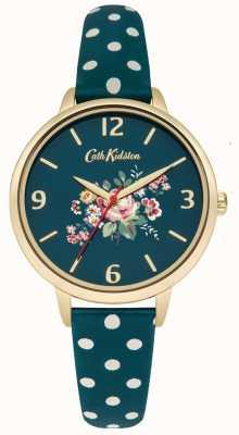Cath Kidston briar Ladies rose vert polka sangle de point CKL004NG