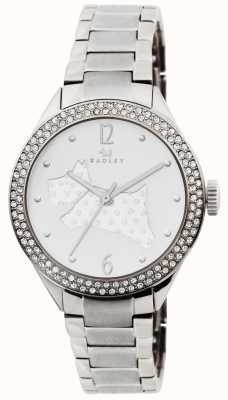 Radley Le grand bracelet en acier inoxydable à l'extérieur RY4189