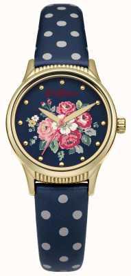 Cath Kidston Bracelet navy à pois bleu marine CKL012UG