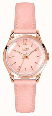 Henry London Shoreditch rose des femmes HL25-S-0170