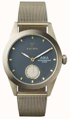 Triwa Womans cendres aska maille d'or AKST103-MS121717