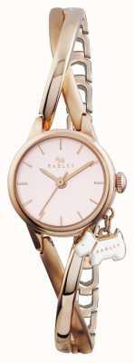 Radley plaqué or rose bracelet demi RY4184