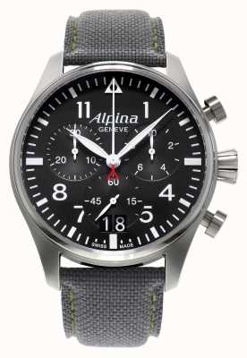 Alpina pilote chronographe quartz Mens AL-372B4S6