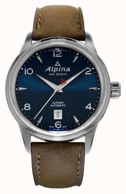 Alpina Mens alpiner bleu automatique AL-525N4E6