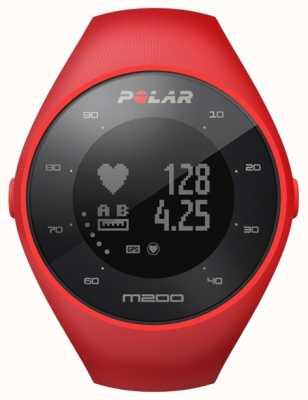 Polar Unisexe rouge m200 gps m / l poignet hr 90061217