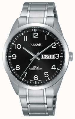 Pulsar Montre classique en acier inoxydable Gents PJ6063X1