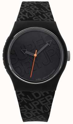 Superdry Silicone noir urbain unisexe | SYG169B