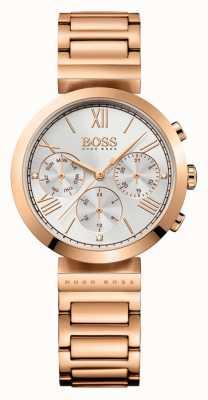 Boss Bracelet sport classique pour femme en argent plaqué or rose 1502399