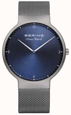 Bering Bracelet à maille interchangeable Mens max rené gris 15540-077