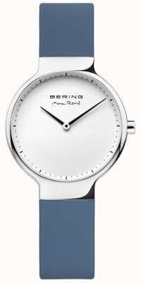 Bering Bracelet en caoutchouc bleu interchangeable Ladies max rené 15531-700
