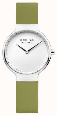 Bering Bracelet en caoutchouc vert interchangeable Ladies max rené 15531-800