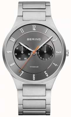Bering Montre chronographe chronomètre titane 11539-779
