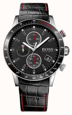 Hugo Boss Gents RAFALE noire montre chronographe 1513390