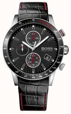 Boss Montre chronographe noire Gents Rafale 1513390