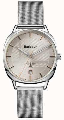 Barbour Maillot en argent mitford pour femme BB062SL