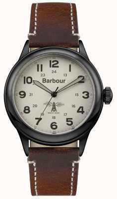 Barbour Mens Murton cuir marron BB056CMBR