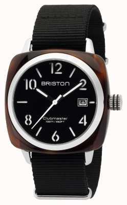 Briston Homme clubmaster classique acétate hms tortoise shell noir 16240.SA.T.1.NB