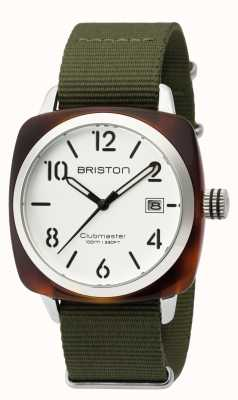 Briston Hommes clubmaster classique acétate hms tortue blanc 16240.SA.T.2.NGA