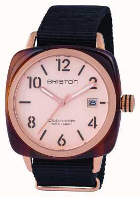 Briston Classique clubmaster classique en or rose 14240.PRA.T.6.NB