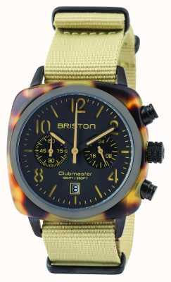 Briston Homme clubmaster classique acétate chronographe safari 14140.PBAM.TS.5.NK