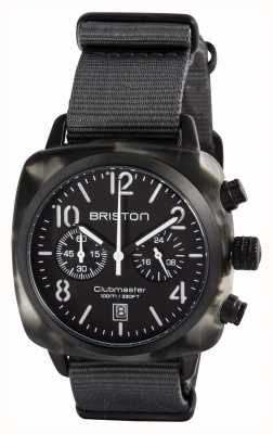 Briston Homme clubmaster classique acétate chasseur alpin noir 15140.PBAM.GT.3.NG
