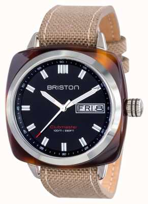 Briston Mens clubmaster sport acétate hms écaille de tortue noire 15342.SA.TS.1.LSK