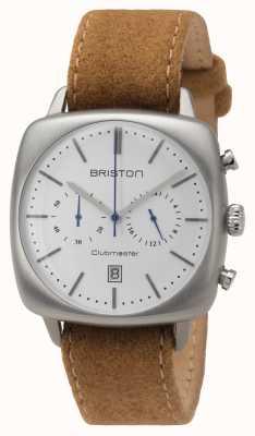 Briston Mens clubmaster vintage en acier beige 16140.S.V.2.LFCA