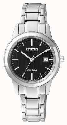 Citizen Mesdames citoyen silhouette eco-drive montre en acier inoxydable FE1081-59E