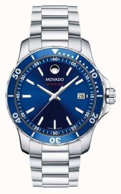 Movado série 800 montres de sport en acier de performance en aluminium pour homme 2600137