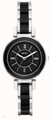DKNY Womans ellington acier inoxydable en céramique noire NY2590