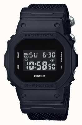 Casio G-shock noir sangle de tissu DW-5600BBN-1ER