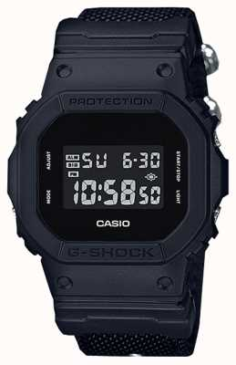 Casio G-shock noir sangle de tissu DW-5600BBN-1ER