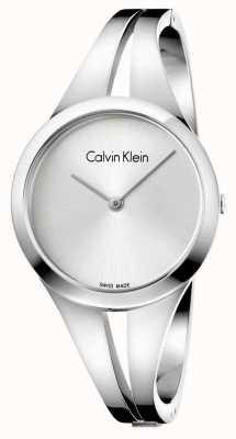Calvin Klein Womans addict bracelet en argent en acier inoxydable K7W2S116