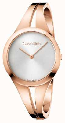 Calvin Klein Womans addict bracelet en or rose K7W2M616