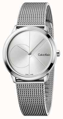 Calvin Klein Maille minimale en acier inoxydable pour femmes K3M2212Z