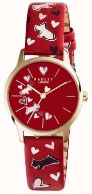 Radley Womans imprimé bracelet chien rouge RY2474