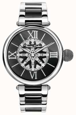 Thomas Sabo Womans karma liens ip en acier inoxydable WA0298-290-203-38