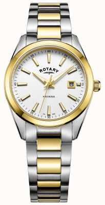 Rotary Womans havana two tone LB05080/02