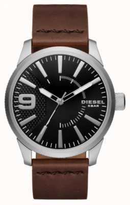 Diesel Rasp noir et acier inoxydable DZ1802