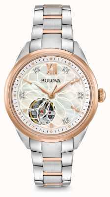 Bulova automatique montre en diamant des femmes 98P170
