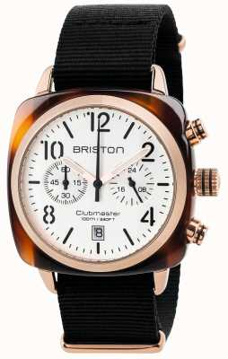 Briston Chronographe classique homme clubmaster 17140.PRA.T.2.NB
