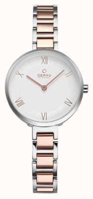 Obaku Womans vand peach wristwatch V195LXCISV