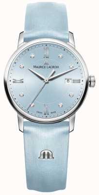 Maurice Lacroix Femmes eliros huit diamants bleus EL1094-SS001-550-1