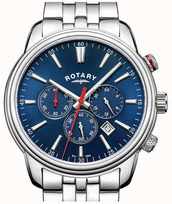Rotary Mens monaco chronographe bleu GB05083/05
