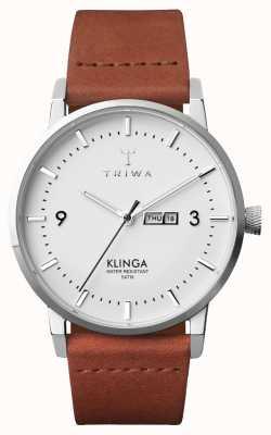 Triwa Hommes klinga Brown Classic KLST109-CL010212